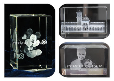 Porcellana Crystal Portraits 3D Laser Engraving Equipment High Speed Air Cooling Stable fornitore